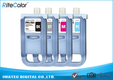 Cina Large Format Inks 700Ml Compatible Ink Cartridges For Canon iPF8000 / 8000S pemasok
