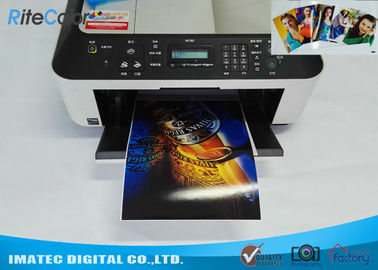 Cina Dye Ink Printing A4 Double Sided Glossy Inkjet Photo Paper 160 Gram pabrik