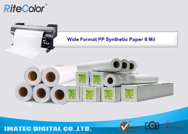 Tear Resistance PP Synthetic Paper 8 Mil Water - Based Matte Polypropylene Film