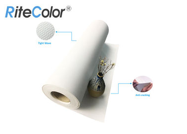 Cina Waterproof Polyester Artist Canvas Roll / Inkjet Digital Printing Blank Canvas Roll pabrik