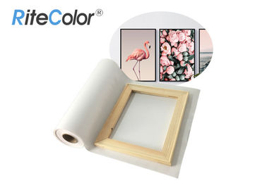 Cina Large Canvas Polyester Canvas Rolls Aqueous Blank Matte Inkjet Printing pabrik
