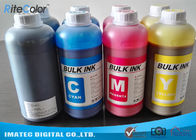 Cina DX4 Printheads Odorless Eco Solvent Inks Outdoor Signage Display Printing perusahaan