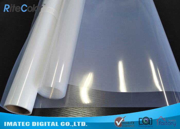 "Translucent Positive Screen Printing Inkjet Film Roll 42"" 60"" Polyester Based pemasok"