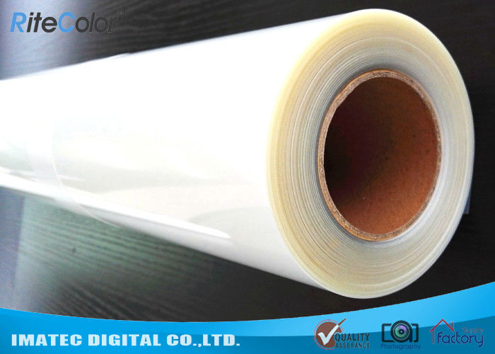 Transparent Positive Silk Screen Printing Film Rolls 100 Mic Clear Inkjet Film pemasok