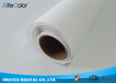 Cina Large Format Matte Polyester Canvas Rolls For Art Inkjet Digital Printing Distributor