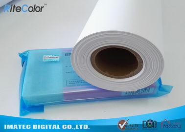 Cina Glossy PP Synthetic Paper Roll , Wide Format PP Inkjet Printing Paper Distributor