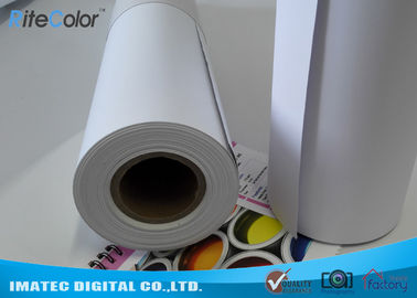 Cina Matte Printable PP Synthetic Paper , Polypropylene Paper Rolls For Dye Ink pabrik