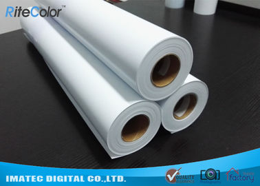 Cina Eco Solvent Matte PP Synthetic Paper , Solvent based Polypropylene Paper for Outdoor Display pabrik
